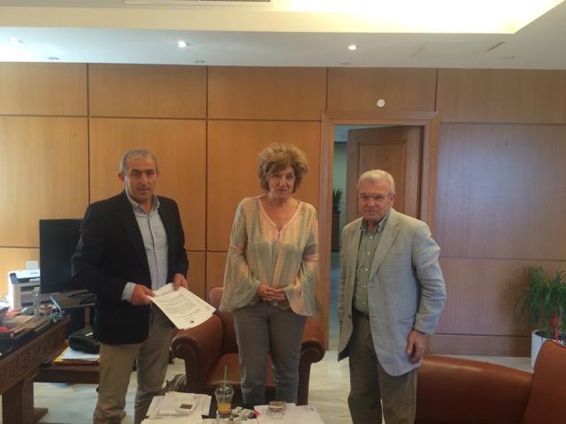 Συνάντηση Θραψανιώτη – Βαρδάκη με την Αναπληρώτρια Υπουργό Παιδείας