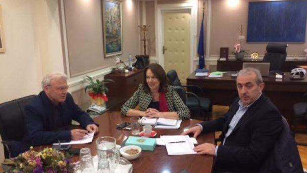 Συνάντηση με την Υφυπουργό Οικονομικών κα Παπανάτσιου Κατερίνα πραγματοποίησε  ο Βαρδάκης Σωκράτης