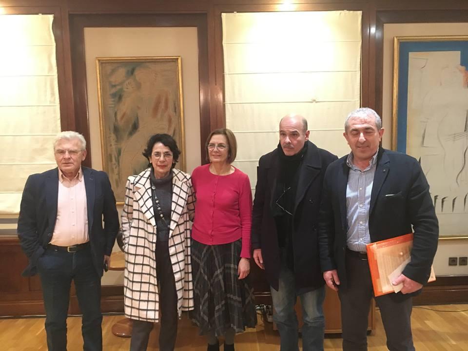 Συνάντηση Θραψανιώτη με την Υπουργό Πολιτισμού