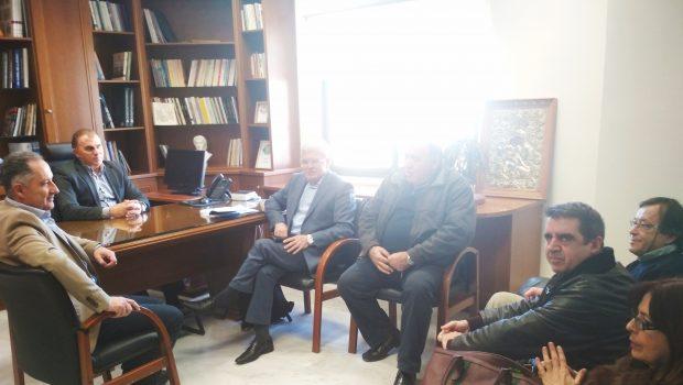 Συνεργασία  Θραψανιώτη με τον δήμαρχο Ιεράπετρας