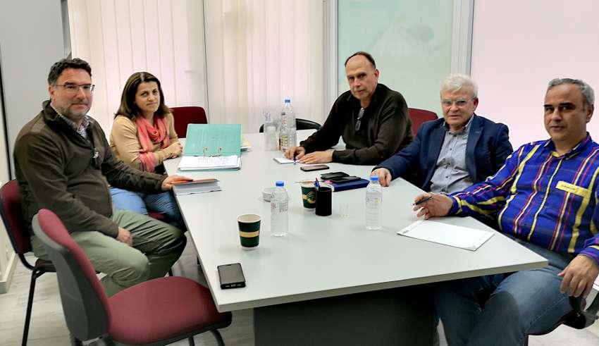 Επίσκεψη του βουλευτή Μ. Θραψανιώτη στη Δημοτική Επιχείρηση Ύδρευσης Αποχέτευσης Αγίου Νικολάου