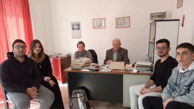 Συνάντηση με το ΔΣ του Συλλόγου σπουδαστών της ΑΣΤΕΚ είχε ο βουλευτής Μανόλης Θραψανιώτης.