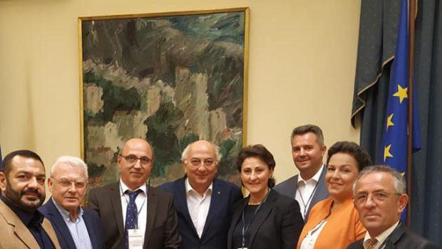 Συνάντηση με το Δίκτυο Ελλήνων Αιρετών Αυτοδιοίκησης της Ευρώπης