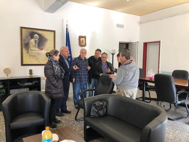 Επίσκεψη Μ. Θραψανιώτη στο Παράρτημα ΑμεΑ Λασιθίου και στη Μονάδα Φροντίδας Ηλικιωμένων Ενορίας Αγίας Τριάδας
