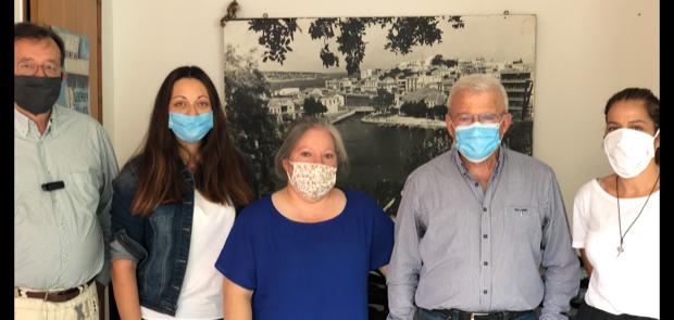Συνάντηση Θραψανιώτη με Εκπροσώπους Εργαζομένων  στο Γηροκομείο Ιεράπετρας