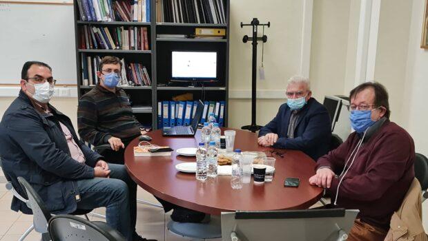 Συνάντηση Θραψανιώτη με τον Πρόεδρο του Τμήματος ΕΛΜΕΠΑ Αγίου Νικολάου