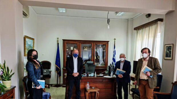 Συνάντηση Θραψανιώτη – Γουλιδάκη για τη βιωσιμότητα  του ΕΛ.ΜΕ.ΠΑ στο Λασίθι και τη λειτουργία των νέων Τμημάτων του