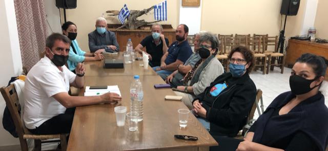Επίσκεψη Μανόλη Θραψανιώτη σε Καλαμαύκα και Μάλες