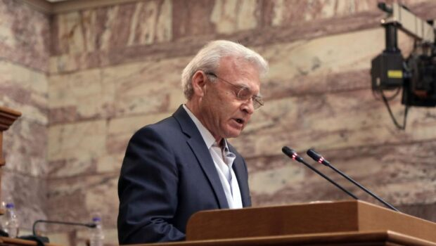 Δήλωση Μανόλη Θραψανιώτη από το Βήμα της Βουλής για τον θάνατο του Μίκη Θεοδωράκη