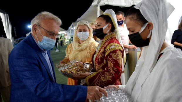 Χαιρετισμός Μανόλη Θραψανιώτη  στα εγκαίνια της  AGROEXPO στην Ιεράπετρα.